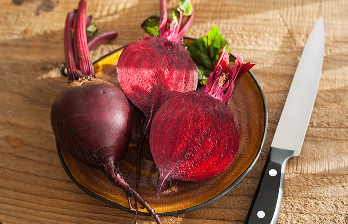 4. Beetroot For Black Spots On Lips