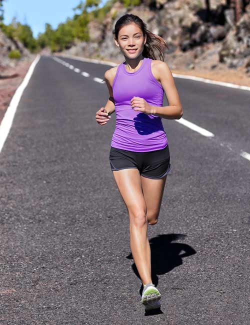 Increase Your Stamina For Running - Land Softly