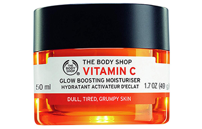 4. The Body Shop Vitamin C Glow Boosting Moisturiser
