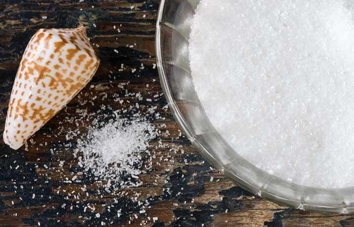 Chigger Bites - Epsom Salt