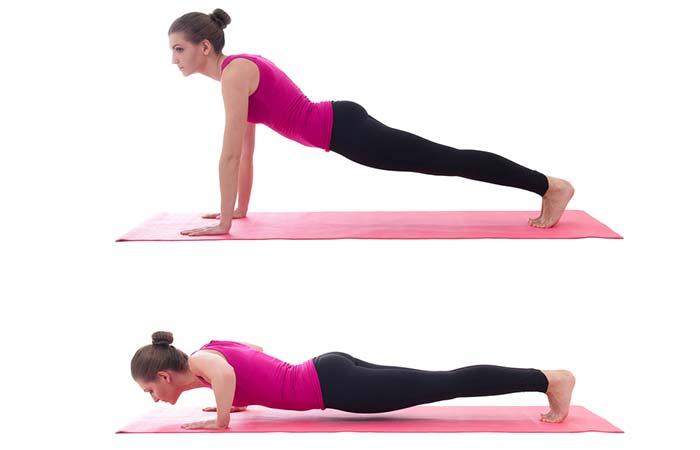 Shoulder Exercises For Women - Push-ups