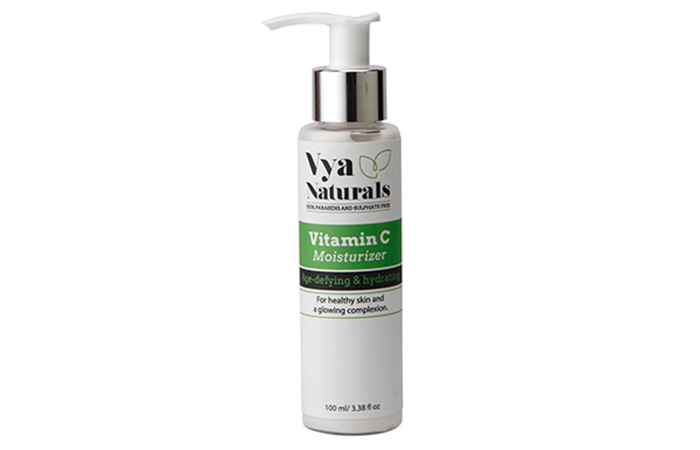 5. Vya Naturals Vitamin C Moisturizer