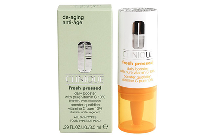 6. Clinique Fresh Pressed Daily Booster