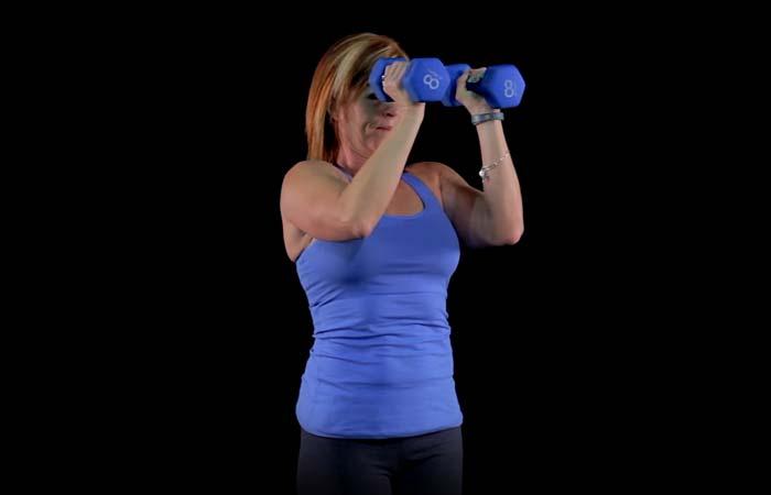Shoulder Exercises For Women - Pec Deck Butterfly