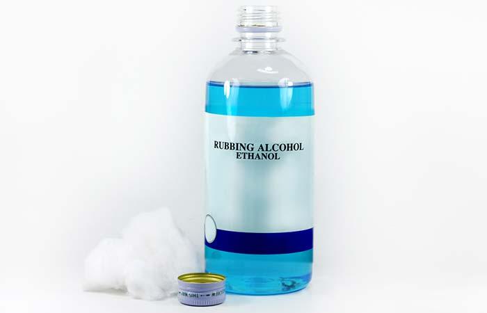 Chigger Bites - Rubbing Alcohol