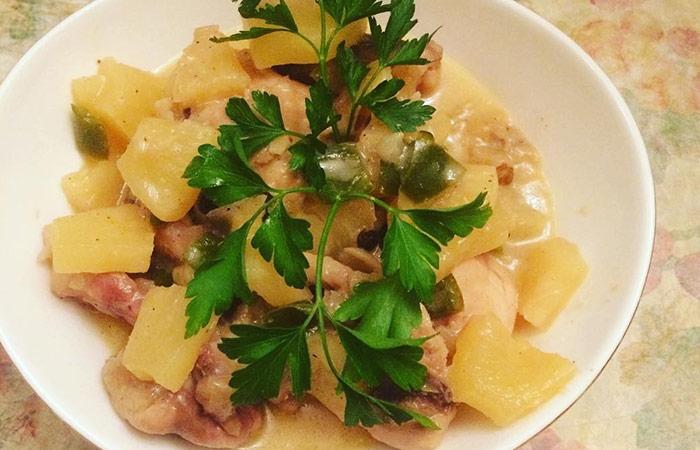 Chicken Pakora Recipes - Hawaiian Chicken Pakora