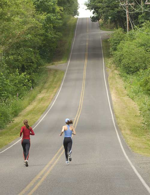 Increase Your Stamina For Running - Run On An Incline