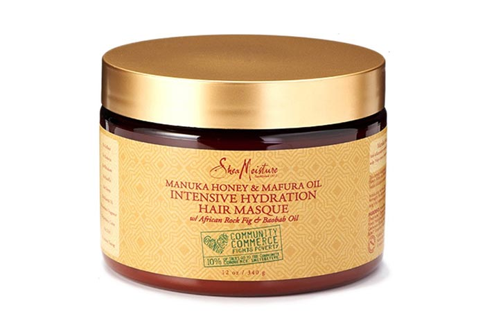 Best Organic Hair Masks - SheaMoisture Manuka Honey And Mafura Oil Intensive Hydration Hair Masque