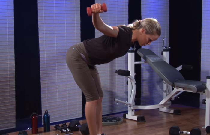 Shoulder Exercises For Women - Dumbbell Upright Rows