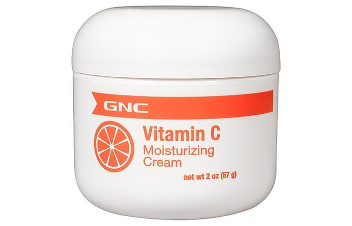 8. GNC Vitamin C Moisturizing Cream