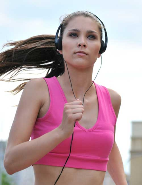 Increase Your Stamina for Running - Listen To Music