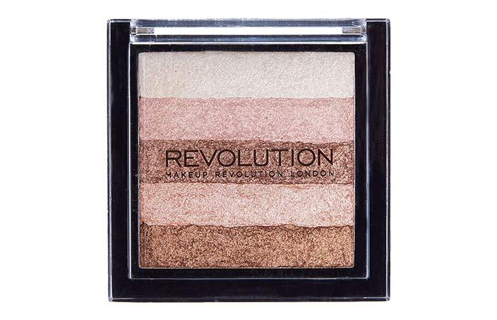 Best Highlighters in India - 8. Makeup Revolution Vivid Shimmer Highlighter