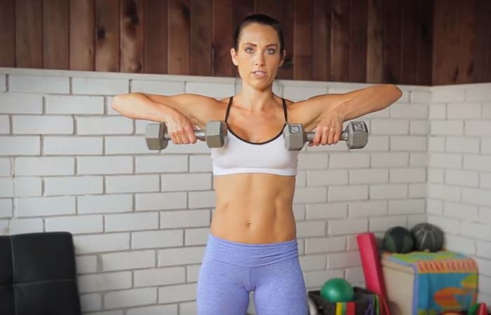 Shoulder Exercises For Women - Reverse Fly