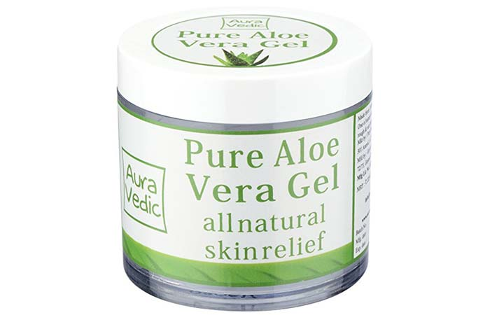 Aloe Vera Gels For Treating Burns - Auravedic Pure Aloe Vera Gel