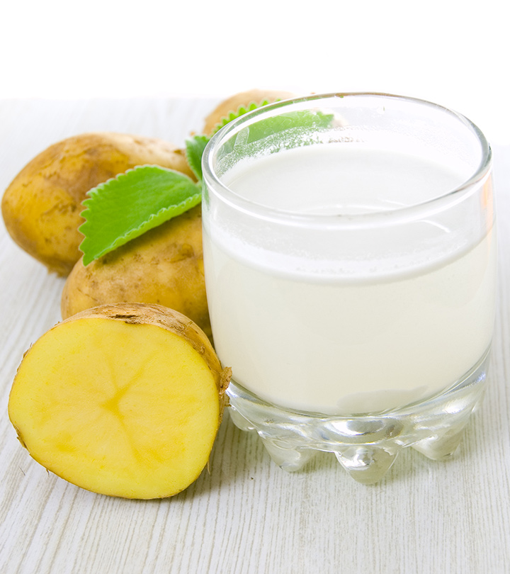 Top 7 Beauty Recipes Of Potato Juice