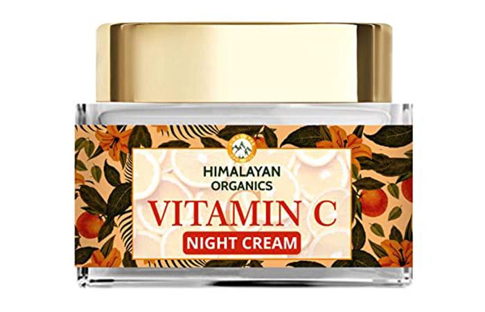 Best All-Natural Formula Himalayan Organics Vitamin C Night Cream