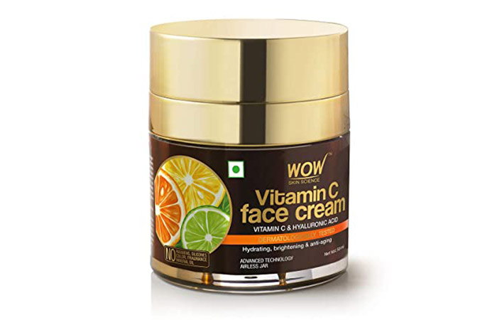 Best For All Skin Types WOW Skin Science Vitamin C Face Cream