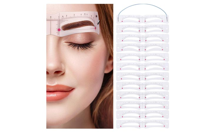 Donees Eyebrow Stencil