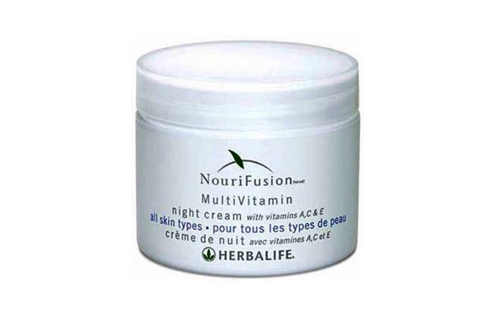 NouriFusion MultiVitamin Night Cream