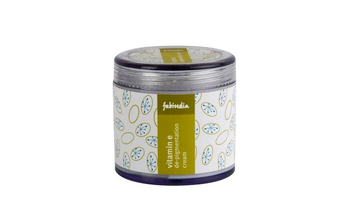 Fabindia — Vitamin E De-Pigmentation Cream