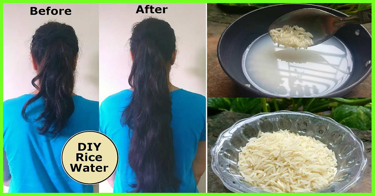 How To Use Rice Water For Hair 2 Simple And Easy Methods
