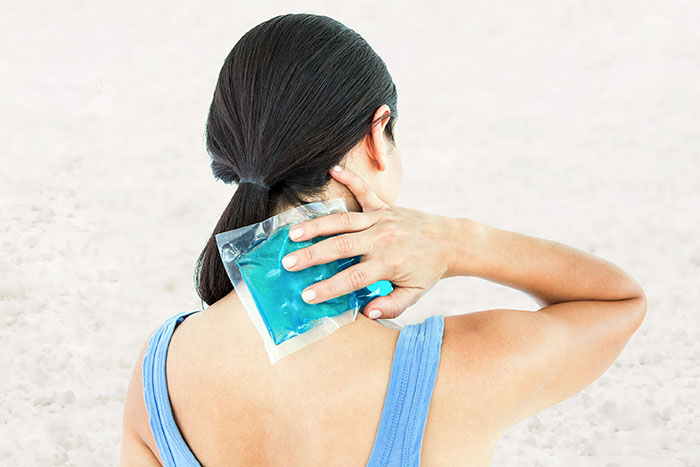 Ice Pack - How To Relieve Neck Pain