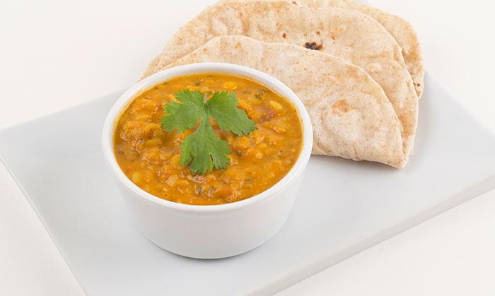 Indian Vegetarian Dinner Recipes - Coconut Dal