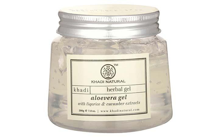 Aloe Vera Gels For Treating Burns - Khadi Natural Aloevera Gel