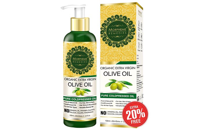 Morpheme Remedies Organic Extra Virgin Olive Oil