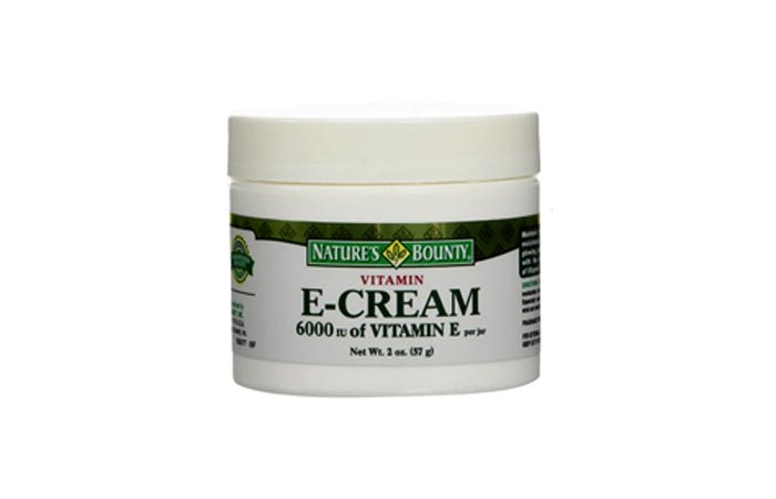 Nature's Bounty Vitamin E Cream