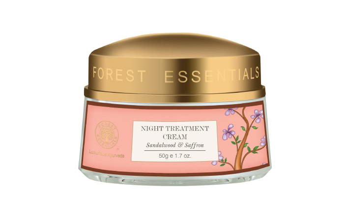 Best Winter Face Cream - Night Treatment Cream Sandalwood And Saffron By Forest Essentials
