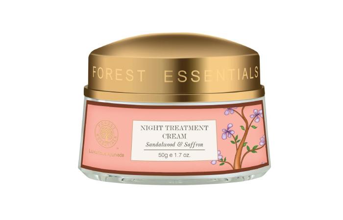 Best Winter Face Cream - Night Treatment Cream Sandalwood And Saffron By Forest Essentials