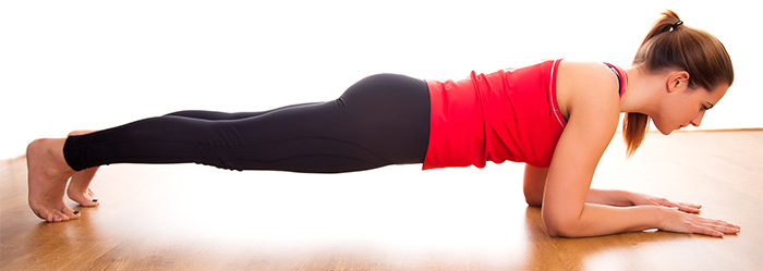 Shoulder Exercises - Dolphin Plank