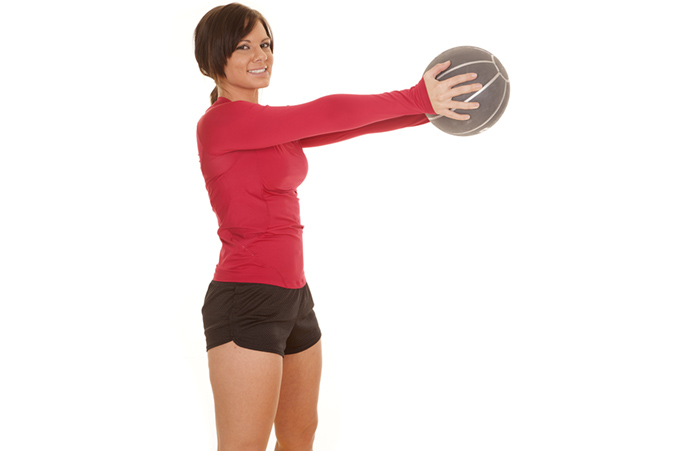 Shoulder Exercises - Medical Ball Alphabets