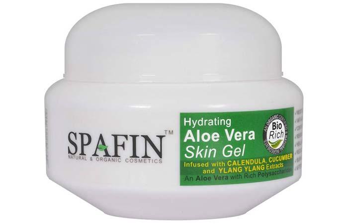 Aloe Vera Gels For Treating Burns - Spafin Aloe Vera Skin Gel
