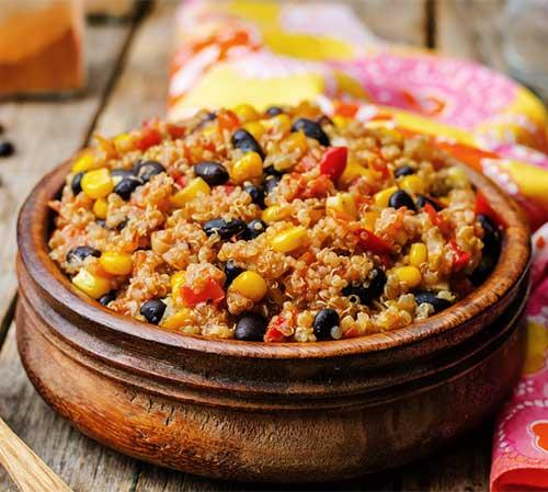 Spicy Quinoa Khichdi