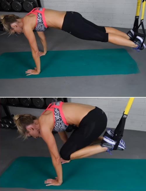 TRX Knee Tucks