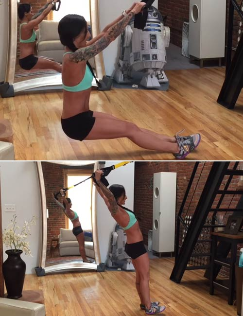TRX Straight Arm Flye