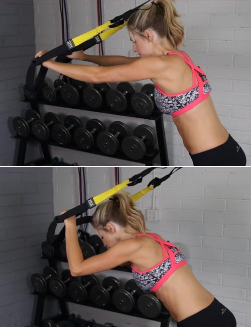 TRX Tricep Push-up