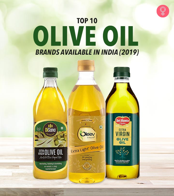 Top 10 Olive Oil Brands Available In India (2019)