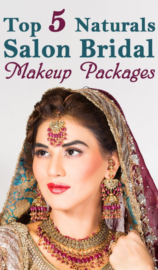Bridal Makeup Naturals : Top 5 Naturals Salon Bridal Makeup Packages
