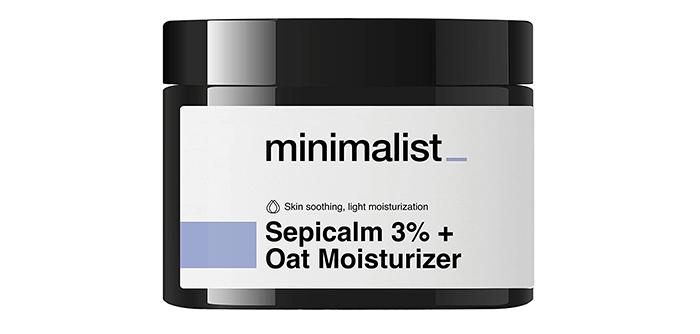 minimalist Sepicalm 3% Oat Moisturizer