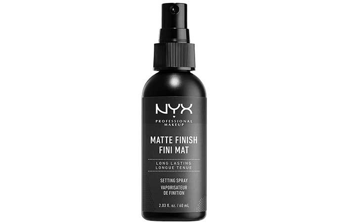 Amazing Makeup Setting Sprays - 13. NYX Professional Makeup Matte Finish Setting Spray