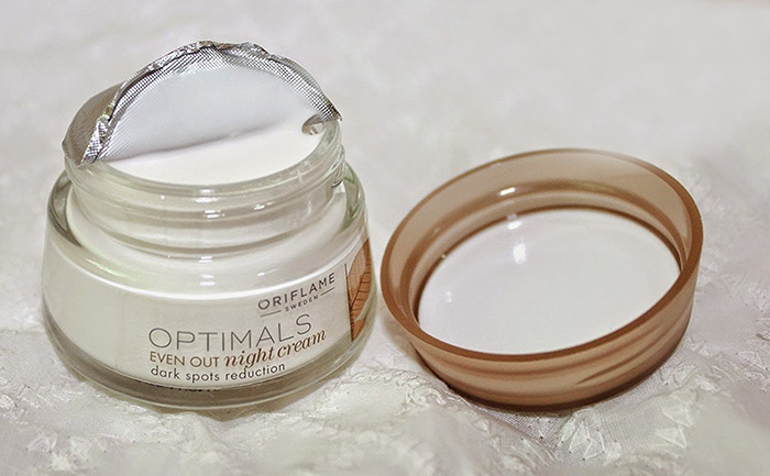 2. Oriflame Optimals Even Out Night Cream