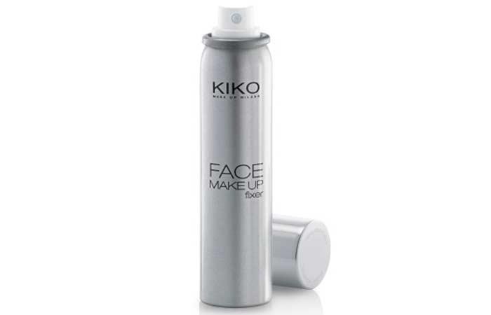 Best Makeup Setting Sprays - 3. KIKO Milano Face Make Up Fixer