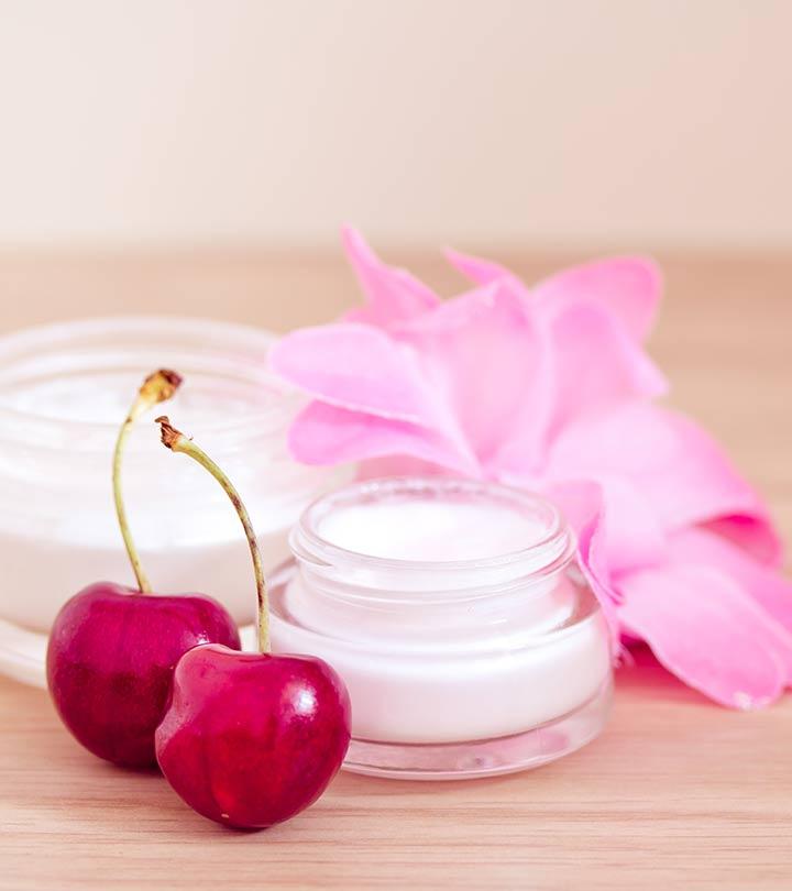 Homemade skin cream with beeswax