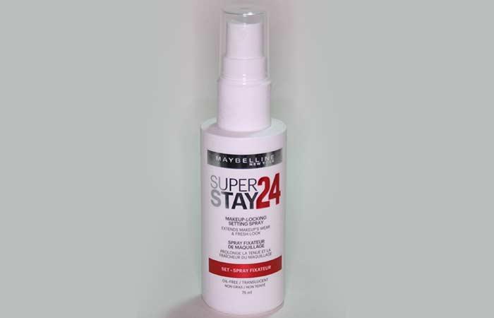 Best Makeup Setting Sprays - 4. Maybelline Superstay 24 Makeup-Locking Setting Spray