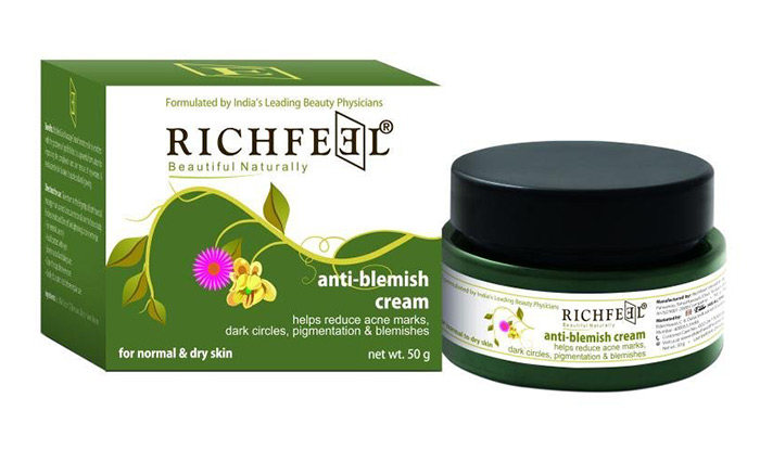 4. Richfeel Anti-Blemish Cream