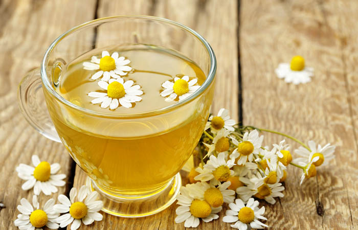 5. Bleach Hair With Chamomile Tea