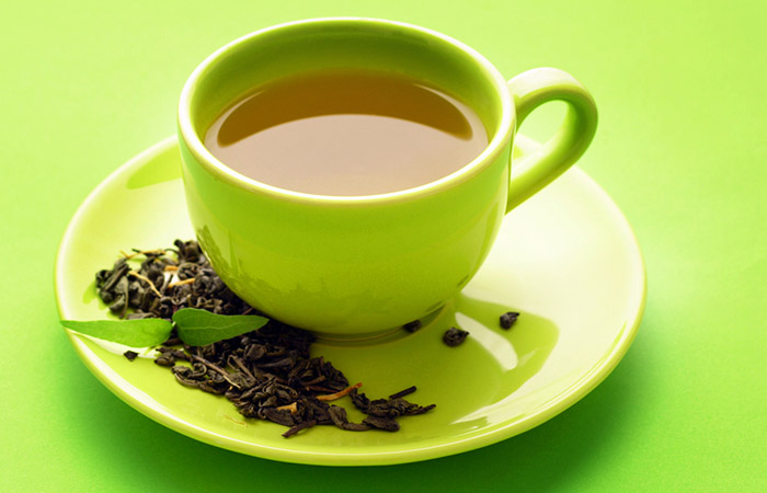 Home Remedies For PCOS - Green Tea